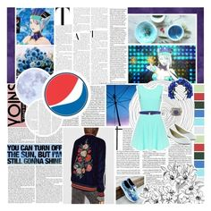 """""""[Yoins] Casual Colspay: Blue Rose (Tiger and Bunny)"""" by phaedra-solaris ❤ liked on Polyvore featuring Élitis, Salvatore Ferragamo and Dolce&Gabbana"""