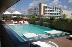 Bulawayo hangouts: Horizon Night Club - Situated neatly in the city center Horizon is the place to be. It's on top of the Pioneer building & boasts a lovely view of Bulawayo. There is a pool to take a dip in if you  feel frisky, plus you can't beat the reasonable drinks prices and wonderful ambiance. The music is always pumping & while I was there I had the chance to check out world famous DJ BlackCoffee. The decor is very up market with comfy couches and hard wood chairs at the bar.