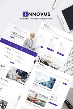 WordPress Template , Innovus - Business