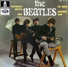 The Beatles - 45 rpm Extended Play - France - 1966.