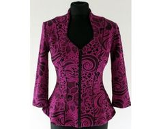 Ladies Special Occasion Fashion & Plus Size Clothing Purple Jacket, Pink Outfits, Jacket Pattern, Black Pattern, Pretty In Pink, Plus Size Outfits, Plus Size Fashion, Special Occasion, Cool Designs