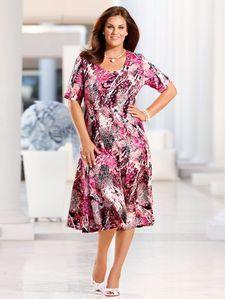 Jersey jurk, Meyer Mode, Short Sleeve Dresses, Dresses With Sleeves, Casual, Fashion, Moda, Sleeve Dresses, Fashion Styles, Gowns With Sleeves