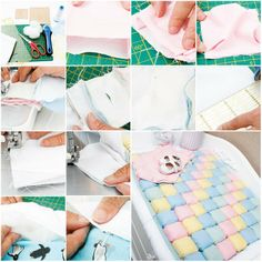 How To Make Baby Diaper Change Rug step by step DIY tutorial instructions   How To Instructions
