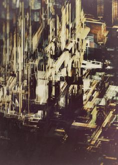 Destiny, a series of digital artworks by Atelier Olschinsky. Atelier Olschinsky is back with a new series of digital artworks named 'Destiny'. 3d Street Art, Mixed Media Artwork, Urban Sketching, Elements Of Art, Futuristic, Illustration Art, Illustrations, Abstract Art, Graphic Design