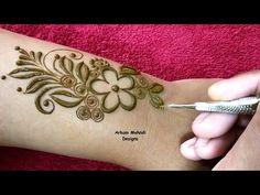 Latest Easy and Stylish Mehndi Design for Back Hand Modern Henna Designs, Mehandi Designs Easy, Stylish Mehndi Designs, Mehndi Designs For Girls, Latest Mehndi Designs, Khafif Mehndi Design, Dulhan Mehndi Designs, Arabic Mehndi Designs, Mehndi Images