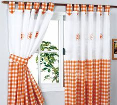 top tips on how to choose the best kitchen curtains 2019 and blinds for your kitchen, modern curtain designs for kitchen 2019 and what curtain colors are suitable for your kitchen, unique kitchen curtains style Cute Curtains, Crochet Curtains, Modern Curtains, Colorful Curtains, Curtains With Blinds, Window Curtains, Curtains 2018, Kitchen Curtain Designs, Country Kitchen Curtains