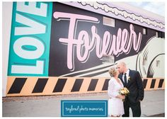 A perfect way to celebrate love. These two secretely eloped in Las Vegas. They were looking for something fun, unique and simple, exactly what Vegas offers! // Las Vegas Wedding Photographer //  Downtown Las Vegas Wedding // #ElopeInVegas