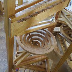 Marvelous Marble Maze Race Track Amish Handmade Heirloom