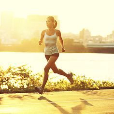 How to lose belly fat when running.