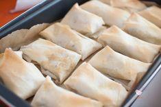 alcachofas con foie envueltas en pasta brick