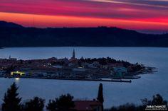 Začarana #Izola v sončnem zahodu // Enchanted #Isola