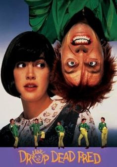 Drop Dead Fred (1991) After Elizabeth (Phoebe Cates) leaves her cheating husband, she moves back into her childhood home with her bossy mom. But instead of moving forward and getting on with her life, Elizabeth takes a huge step back, reliving old memories and resuscitating her imaginary friend, Fred, who lives in a box where he was stored. After 21 years, he's got tons of tricks up his sleeve, and he's about to shake Elizabeth out of her staid existence.