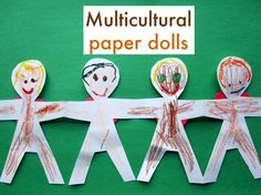 Multicultural Paper Dolls - Re-pinned by @PediaStaff – Please Visit http://ht.ly/63sNt for all our pediatric therapy pins
