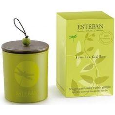 Esteban Bougie parfumée Sous les feuilles 29.00 € livré gratuitement dans le relais colis de votre choix !