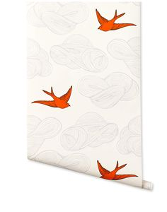 Or hallway in Orange birds? Daydream (Orange) from Hygge #HyggeAndWestPinToWin