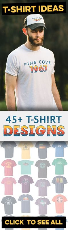 1 of 45+ T-Shirt Designs For Summer Camp (Campers and Staff) Find the best t-shirt designs for summer camps on the internet on one page. See our updated list of 45+ apparel designs that can be 100% customized to fit your camp (You don't have to be a summer camp to order). Get an easy quote with no pressure to buy. Start right here. #bestskirtdesigns
