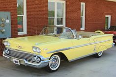1958 Chevy Impala Maintenance/restoration of old/vintage vehicles: the material for new cogs/casters/gears/pads could be cast polyamide which I (Cast polyamide) can produce. My contact: tatjana.alic@windowslive.com