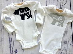 Baby bear by LittleUptownKids on Etsy