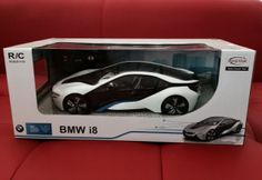 NEW RASTAR BMW I8 OFFICIAL LICENSED 1/14 REMOTE CONTROLLED CAR RTR WHITE