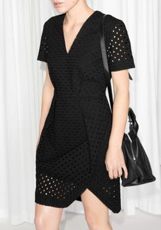 & Other Stories   Broderie Anglaise Dress