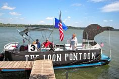 Pontoon Boat Party, Pontoon Boats, Party Barge, Boat Parade, Parade Floats, Lake Party, Boat Decor, Best Boats, Float Your Boat