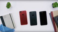 Déballage de l'iPhone 7 Plus (PRODUCT)RED - https://lkn.jp/2o2XNEg
