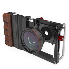 Cell Phone Cinema Mount Smartphone Holder Stabilizer Rig for Samsung LG OnePlus Camera Phone, Camera Gear, Film App, New Technology Gadgets, Blue Filter, Smartphone Holder, Mobile Photography, Camera Photography, Camera Accessories