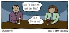 Comic: Sind Sie ein Mann oder eine Frau? – Nein, bin ich nicht. Von Fynn Schenkel für nonbinary.ch Lgbt, Pride, Family Guy, Website, Guys, Comics, Fictional Characters, Thighs, Woman