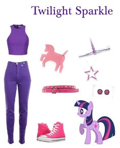 Twilight Sparkle by cassy-jayme-walbourne on Polyvore Twilight Sparkle, My Little Pony, American Girl, Friendship, Polyvore, Stuff To Buy, Magic, Outfits, Shopping