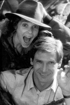 """""""Indiana Jones & the Temple of Doom"""" (1984) - behind the scenes <3"""
