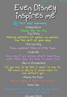 Top 30 Inspiring Disney Movie Quotes #Disney
