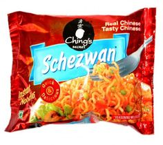 Chings Schezwan Instant Noodles 75G at Rs.15 only!