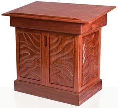 Awesome U201cTen Commandmentsu201d Synagogue Bimah In Bubinga. This Synagogue Furniture  Piece Was Designed And