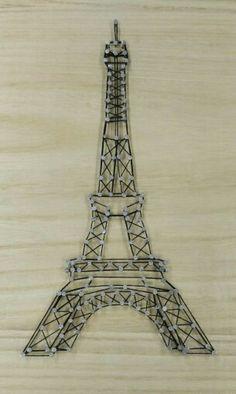 String Art Eiffel Tower