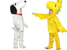 Halloween Howl: Halloween Costume Ideas for Twins (Kids Costumes) - Snoopy and Woodstock!