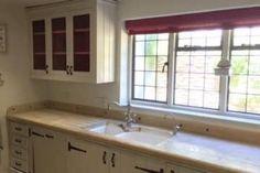 Bespoke kitchen units for farmhouse style home by Bath Bespoke http://www.bathbespoke.co.uk/kitchens/