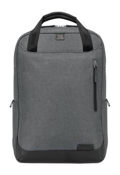 Collins Convertible Backpack - Charcoal | Brenthaven.com