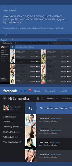 Amazing Facebook Redesign | Concept