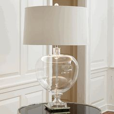 Limited Production Design: Crystal Apple Table Lamp * Production Ended * Hotel Contract Inquiries Considered