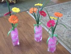 gerber daisy wedding pew decorations | ... com/vendors/product/gerbera-daisy-decorations-personalized-daisy-table