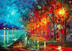 Free painting by Leonid Afremov! Join our raffle - http://joinraffle.afremov.club