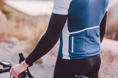 Signature Cycling Jersey Limoges Blue | Isadore Apparel/cycling memories