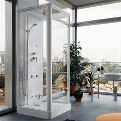 #Kira di @glass1989 #boxdoccia multifunzione che ti farà riscoprire il piacere quotidiano della #doccia nell'ambiente privilegiato di e riservato di #casa tua. www.gasparinionline.it -  #bagno #bathroom #interiors #wellness #weloveit