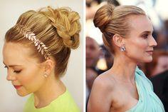 Ideas de peinado de novia para boda en la playa #bodas #elblogdemaríajosé #peinadosnovia