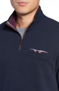 Main Image - Ted Baker London Half Zip Pullover