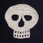 Day of the Dead Crochet Skull Pattern