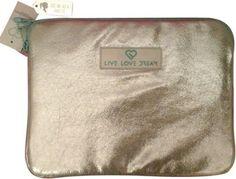 Aeropostale live love dream ipad case silver $14 free shipping ($24.50value)