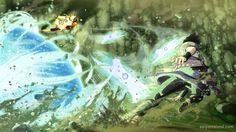Naruto Storm 4: The Last Naruto/Sasuke Combination Ultimate Jutsu, Jubi Story Mode Battle | Saiyan Island