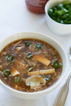 Hot and Sour Soup - Amy in the Kitchen