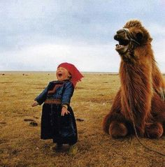 on the steppe of Mongolia Precious Children, Beautiful Children, Whatsapp Animated Gifs, Cute Kids, Cute Babies, Kids Around The World, Photo Portrait, Happy Pictures, Happy People